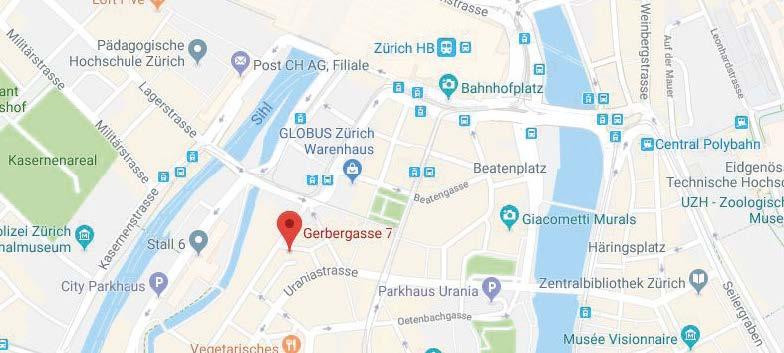 Map Zürich Store